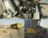 حادثه تصادف,ون و اتوبوس,عراق ,استان ایلام,ایلام بیدار