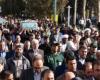 حماسه مردمی در تشییع شهدای گمنام ایلام+تصاویر
